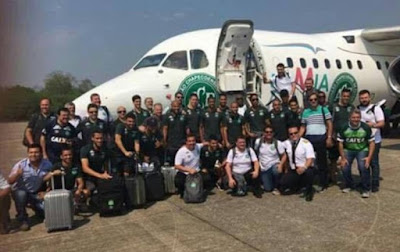 Rival club offer Chapecoense their ENTIRE football squad after plane crash tragedy