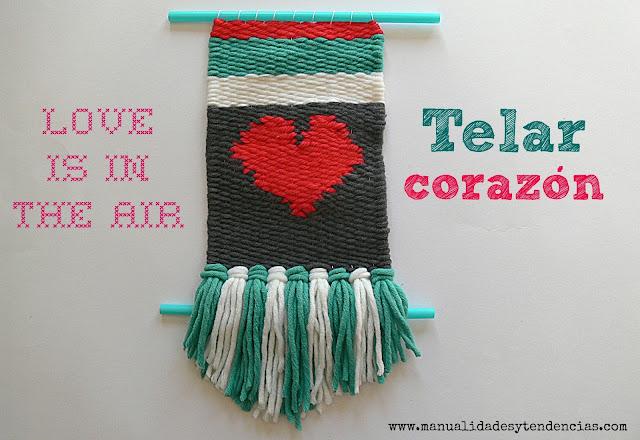 Cómo hacer un tapiz con weaving o telar rectangular