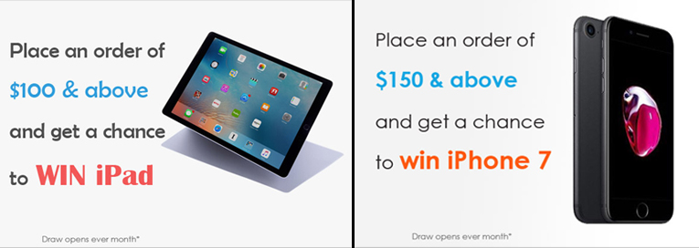 Win iPads and iPhones every month