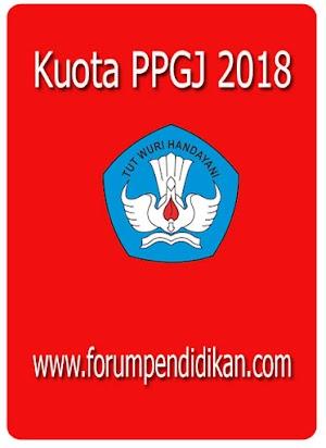 Kuota PPGJ 2018 hanya 70 ribu peserta
