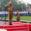 Gubernur Jateng Sampai Basah Kuyup saat Pimpin Upacara Sumpah Pemuda