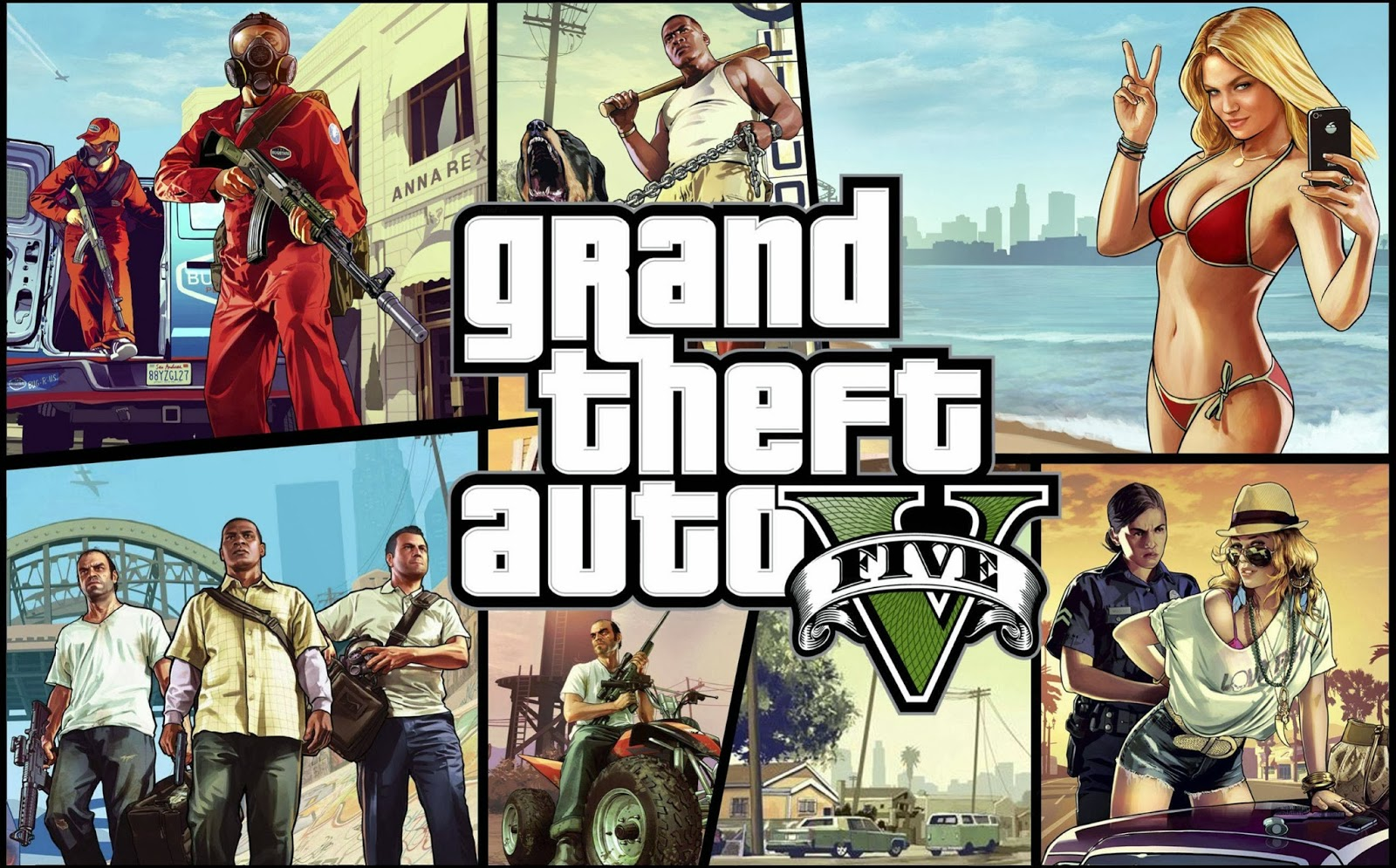 Cara Download Game Gta Online game pc gta 5 full version game ini merupakan game bergenre action dan 1600x995