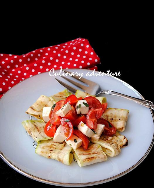 Капрезе с тиквички / Caprese Zucchini Salad