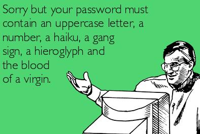 Sử dụng mật khẩu đăng nhập phức tạp