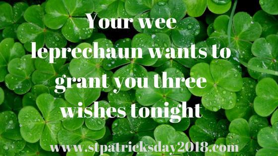 Happy birthday St Patrick's day 2018 quotes