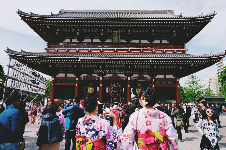 sewa kimono di tokyo