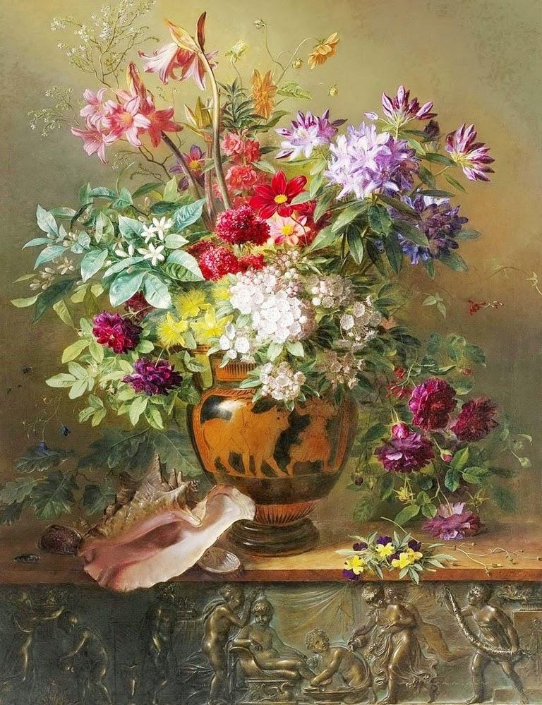 Cuadros modernos pinturas y dibujos cuadros de flores for Cuadros pintados al oleo