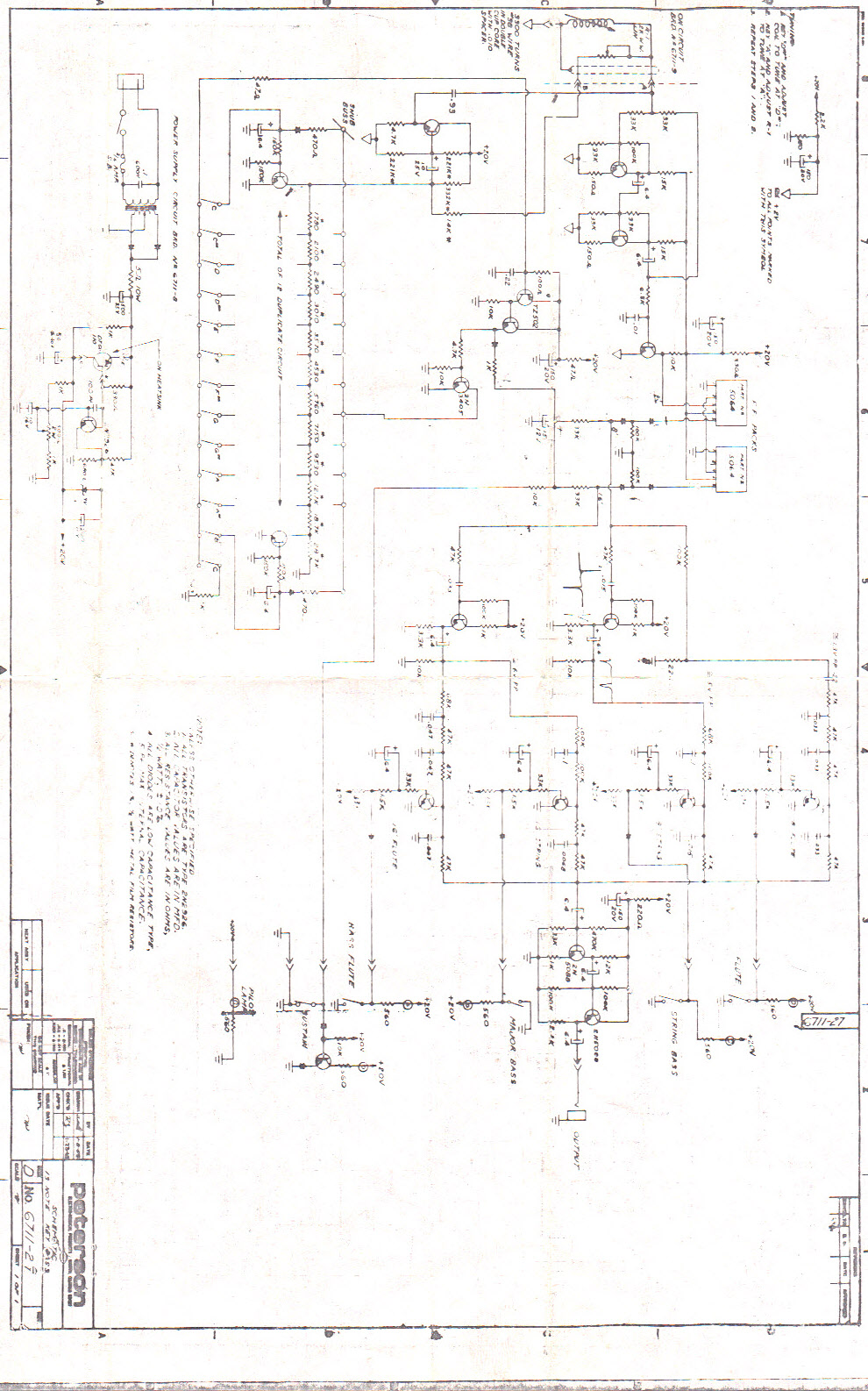 MATRIXSYNTH: Schematic for Fender Bass Pedals