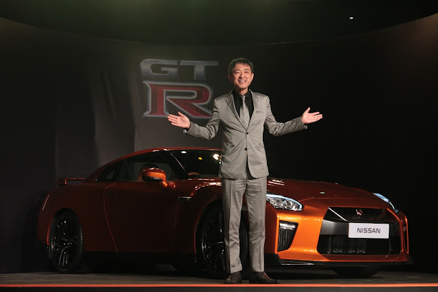 Nissan launches 2017 GT-R in India at INR 1.99 cr