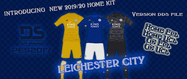PES 2017 Leicester City 2019-20 Kits