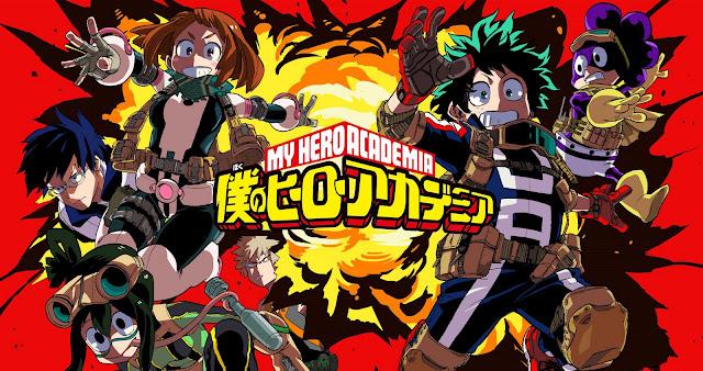 Gratis Unduh Anime Boku no Hero Academia S1 Episode 1-13 Subtitle Bahasa Indonesia Batch