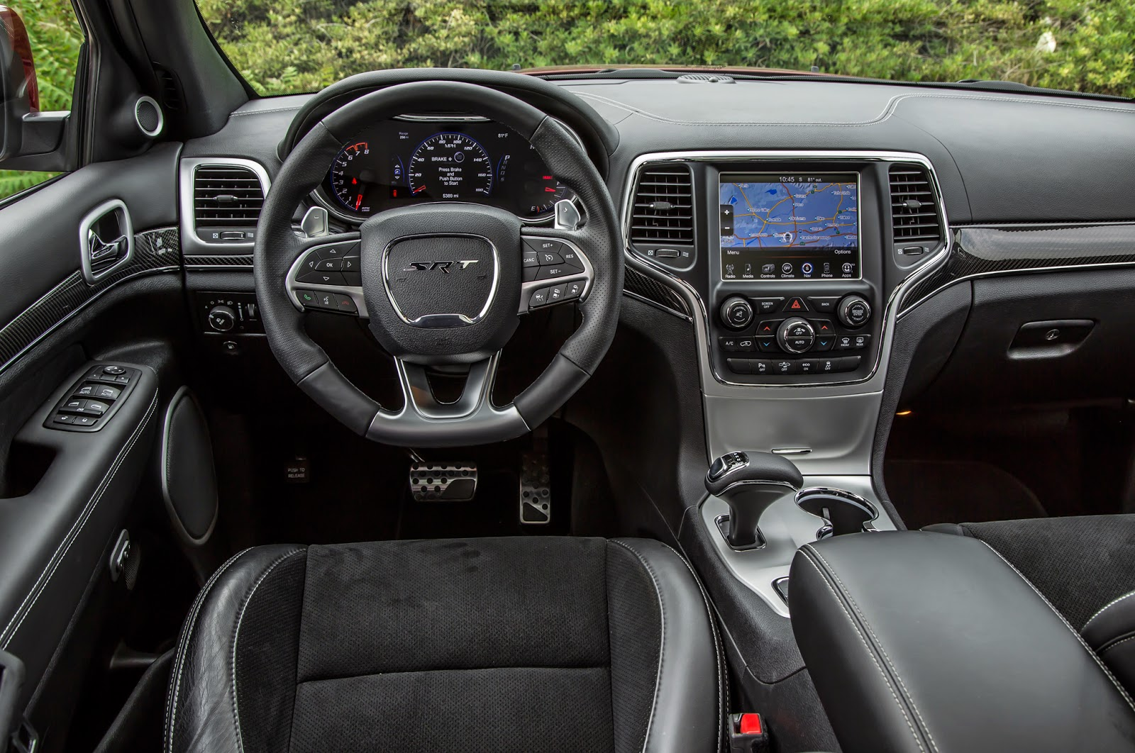 Uconnect Access App >> 2014 Jeep Grande Cherokee SRT - Bongo Ride