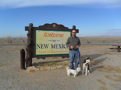 Dog friendly Santa Fe, New Mexico is known as the Land of Enchantment