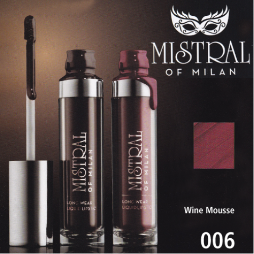MY VESTIGE: Vestige Mistral of Milan Long Wear Liquid Lipstick