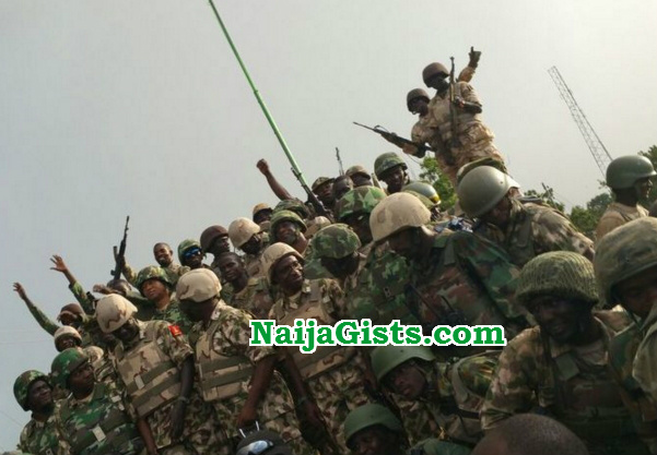 nigerian soldiers lagos deployed to borno state