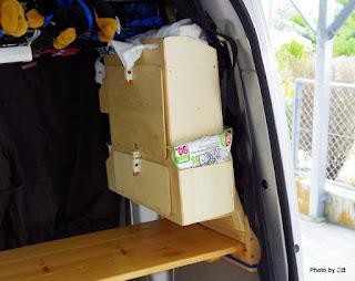 荷室ミニ収納庫