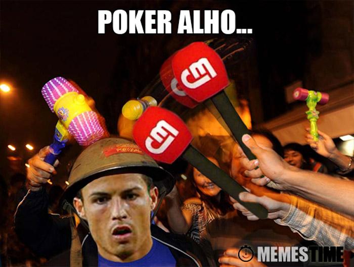 Meme Cristiano Ronaldo no São João do Porto – Poker Alho…