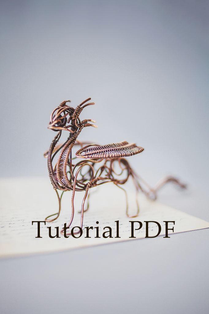 Ursula jewelry wire dragon tutorial for How to make a wire sculpture