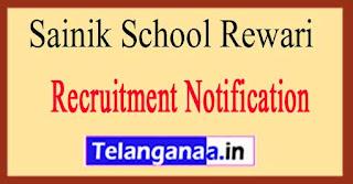 Sainik School Recruitment Notification 2017