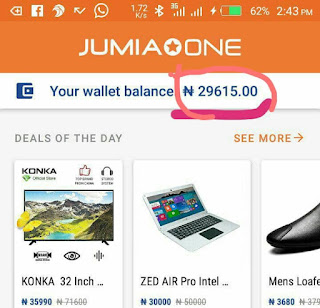 Refer and get free N500 on jumia one app