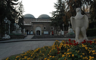 entrance of Anatolian civilization museum