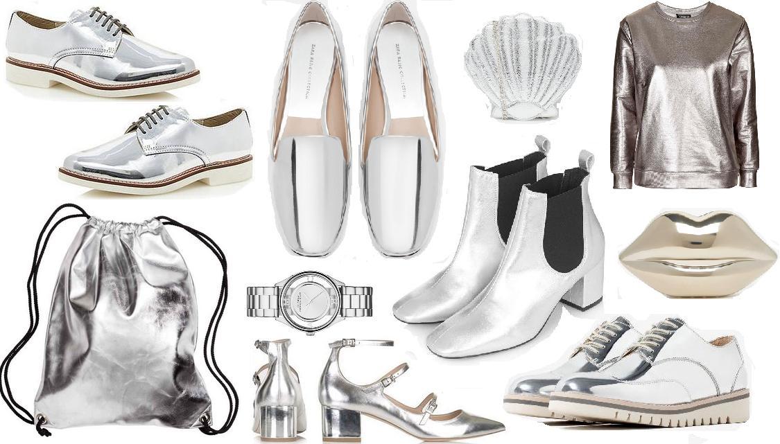b4ff2d958c58 (Clockwise) Brogues; RJR @ Debenhams, Slippers; Zara, Shell bag; SkinnyDip,  Sweater; Topshop, Clutch; Lulu Guiness, Brogues; Zara, Chelsea boots;  Topshop, ...