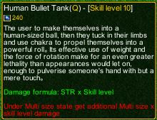 naruto castle defense 6.0 Choji human bullet tank detail