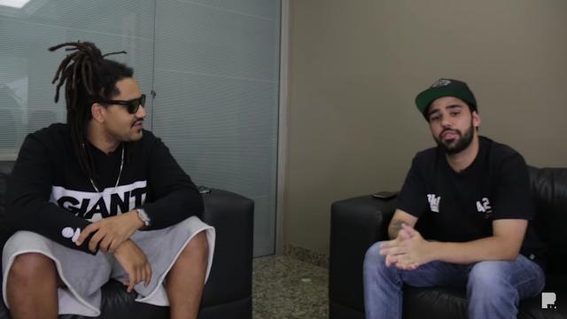 Froid foi entrevistado pelos manos do RAPTV