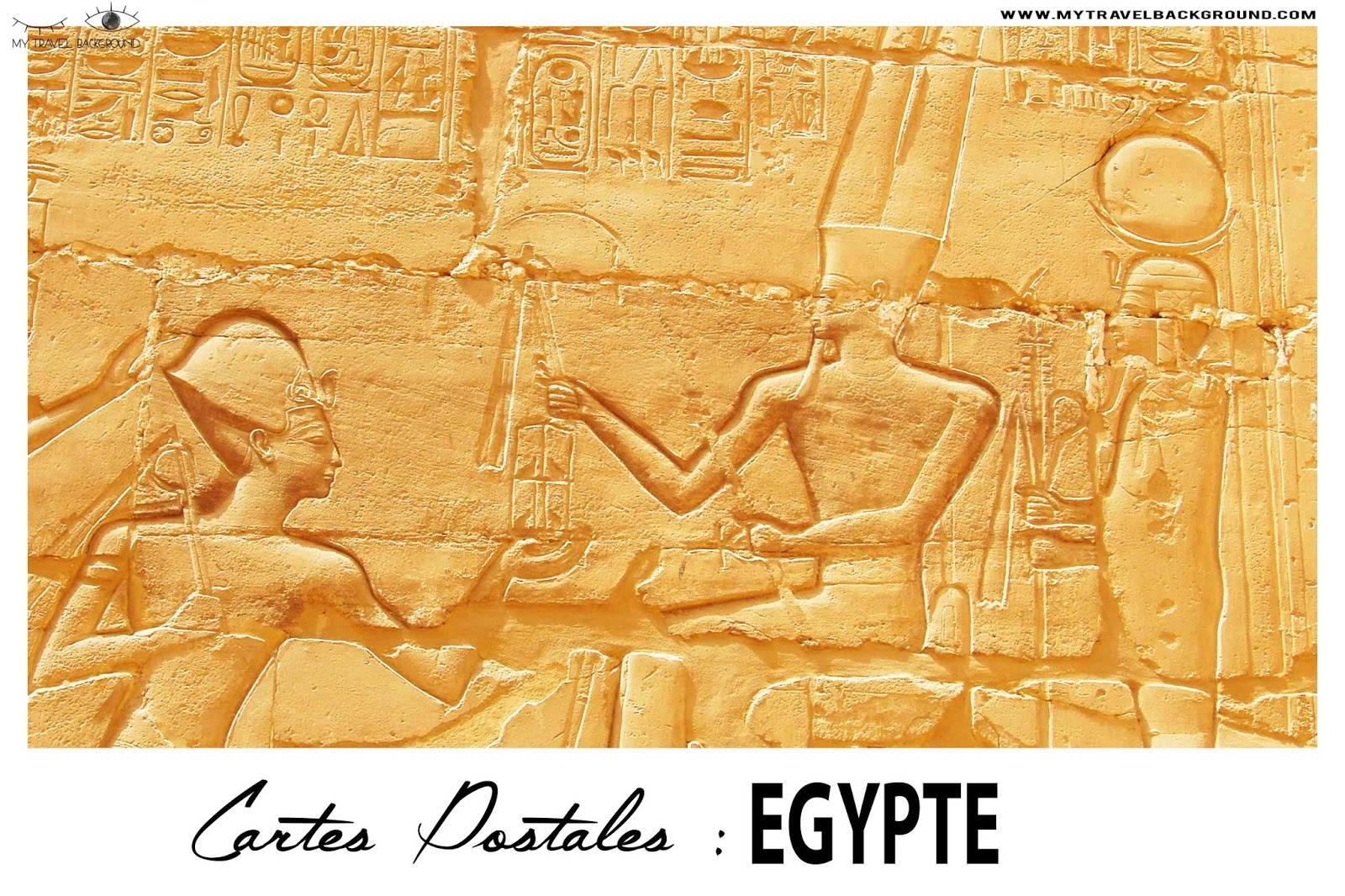 My Travel Background : Cartes Postale Egypte