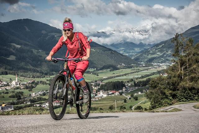 Mountainbike Tour Brenner Großer Nock Auffahrt