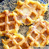 Waffled Carrot and Turnip Fritters