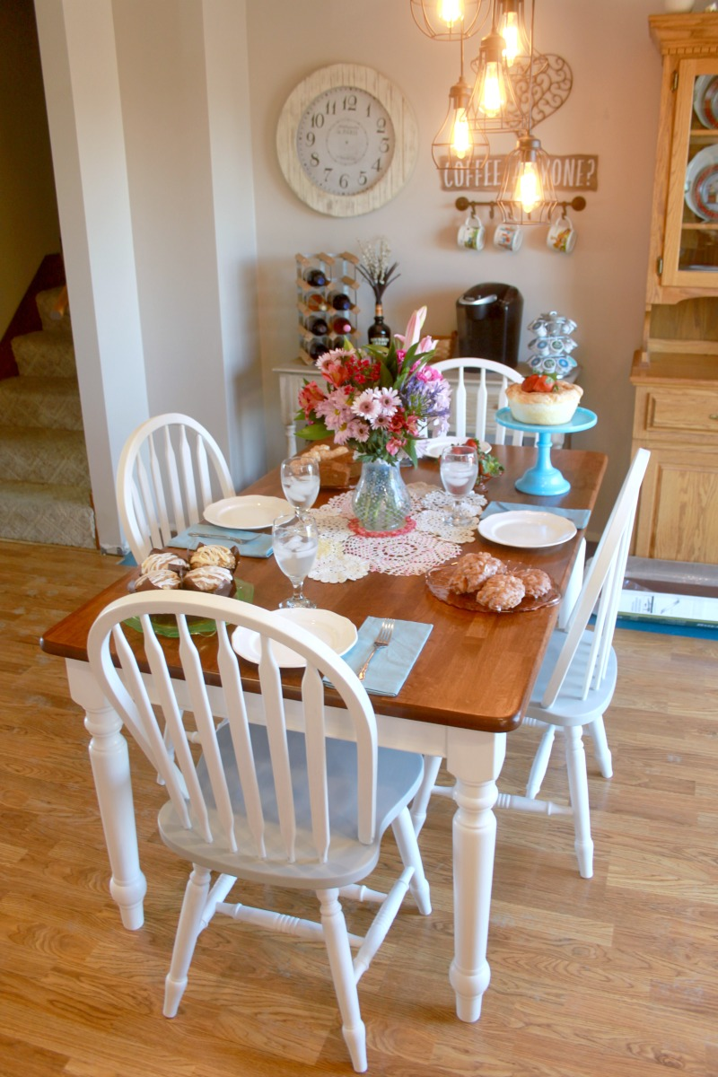 Crazy for cookies and more refinished farmhouse table and for 65 farmhouse table
