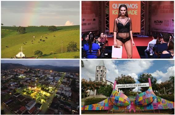 Juruaia é destino que une belas paisagens rurais a turismo de negócios no ramo da moda íntima