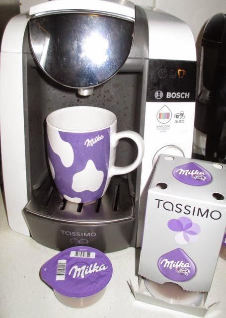 Foodstuff Finds Milka Tassimo New Recipe At Cinabar