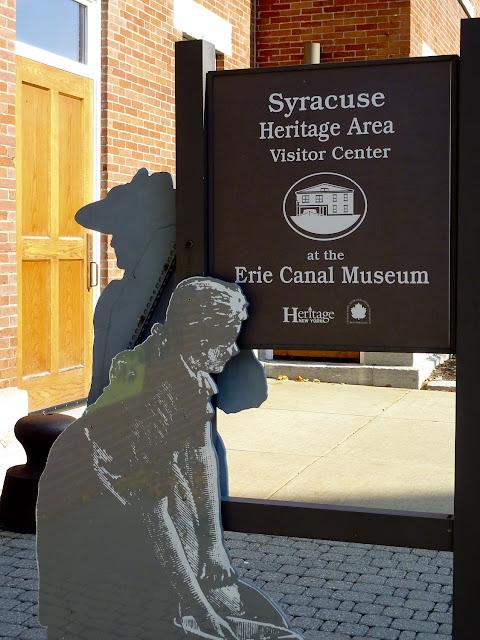 Entrada al Erie Canal Museum en Syracuse