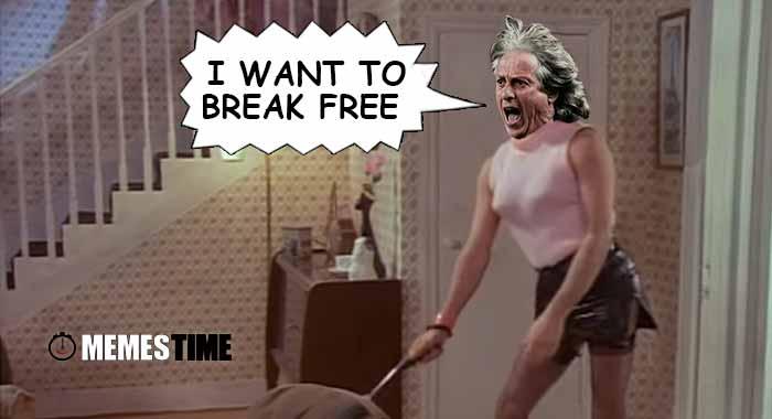 Memes Time… da bola que rola e faz rir - Jorge Jesus não vai poder estar no Banco no Jogo da Champions: Sporting x Legia de Varsóvia, devido ao castigo disciplinar da UEFA -  I Want To Break Free