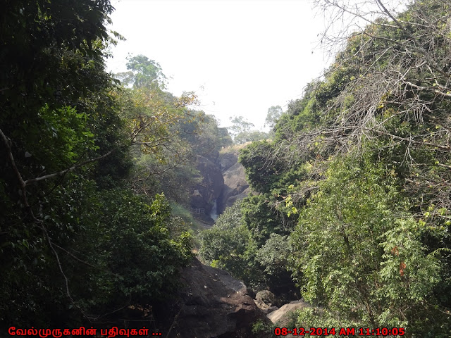 Meenmutty Waterfalls near Banasura Dam