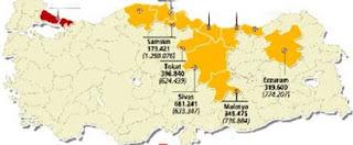 Türkiye'nin Göç Haritası