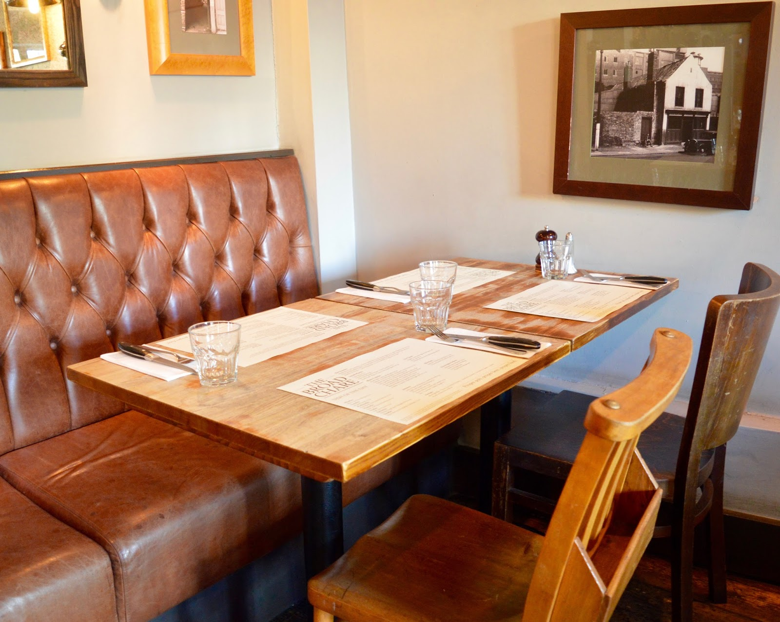 Oktoberfest 2016 | The Broad Chare Newcastle - restaurant booths