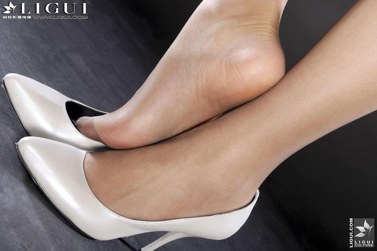 Fashion Tights Skirt Dress Heels  Sandals Female Fetish-6071