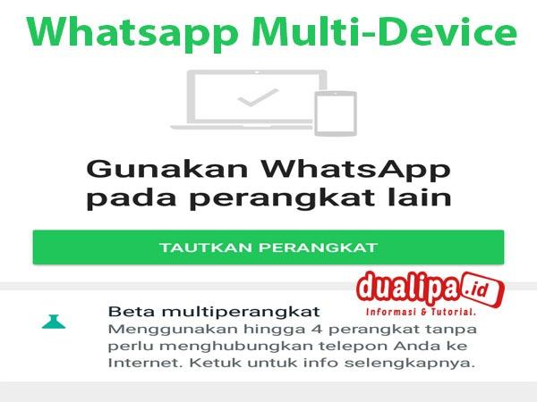 Whatsapp Luncurkan Fitur Baru Multi-Device Versi Beta