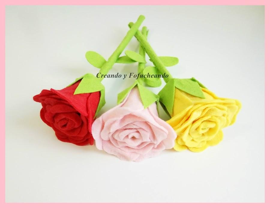 como-hacer-rosas-muy-faciles-en-fieltro-creandoyfofucheando