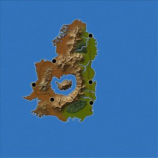 Mapas Rol - Mundo - Isla