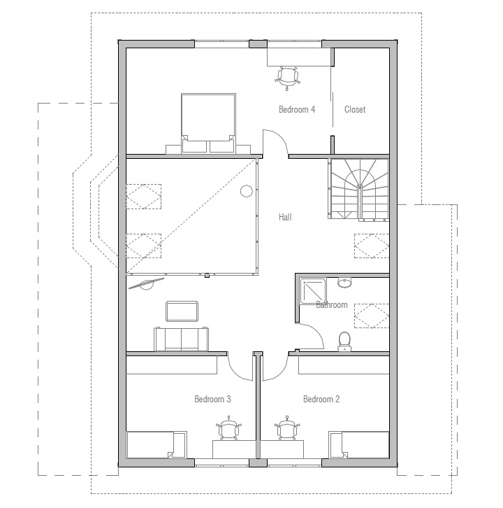Affordable Home Plans: Affordable Home Plan CH34