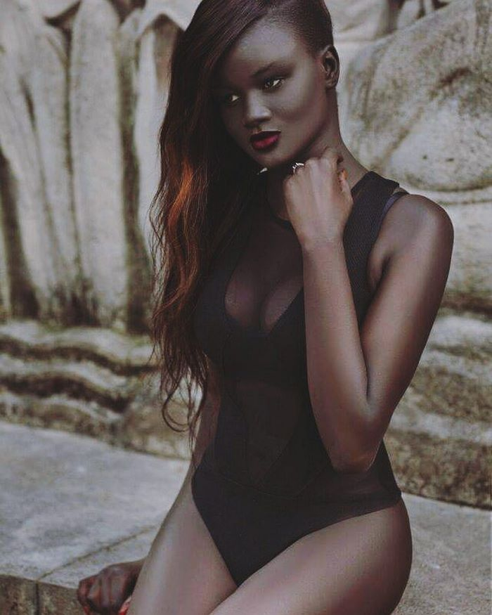 """They nicknamed me darky, daughter of the night"" - Teen Bullied For Her Incredibly Dark Skin Color Becomes A Model, Takes The Internet By Storm"
