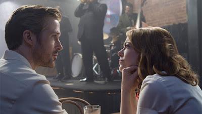 Crítica de 'La La Land'. Ryan Gosling y Emma Stone. Ver. Oír. Contar.