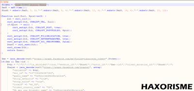 Memasukan Access Token Kedalam Script