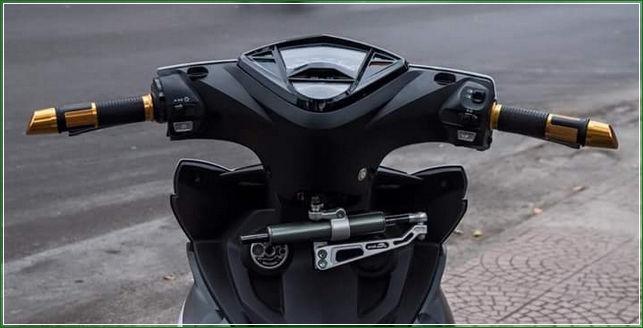 Stabiliser Stang Dari Belakang - Tip Modifikasi Yamaha Jupiter MX King Exciter Gaya Balap MOTO GP Sporti Keren Abis