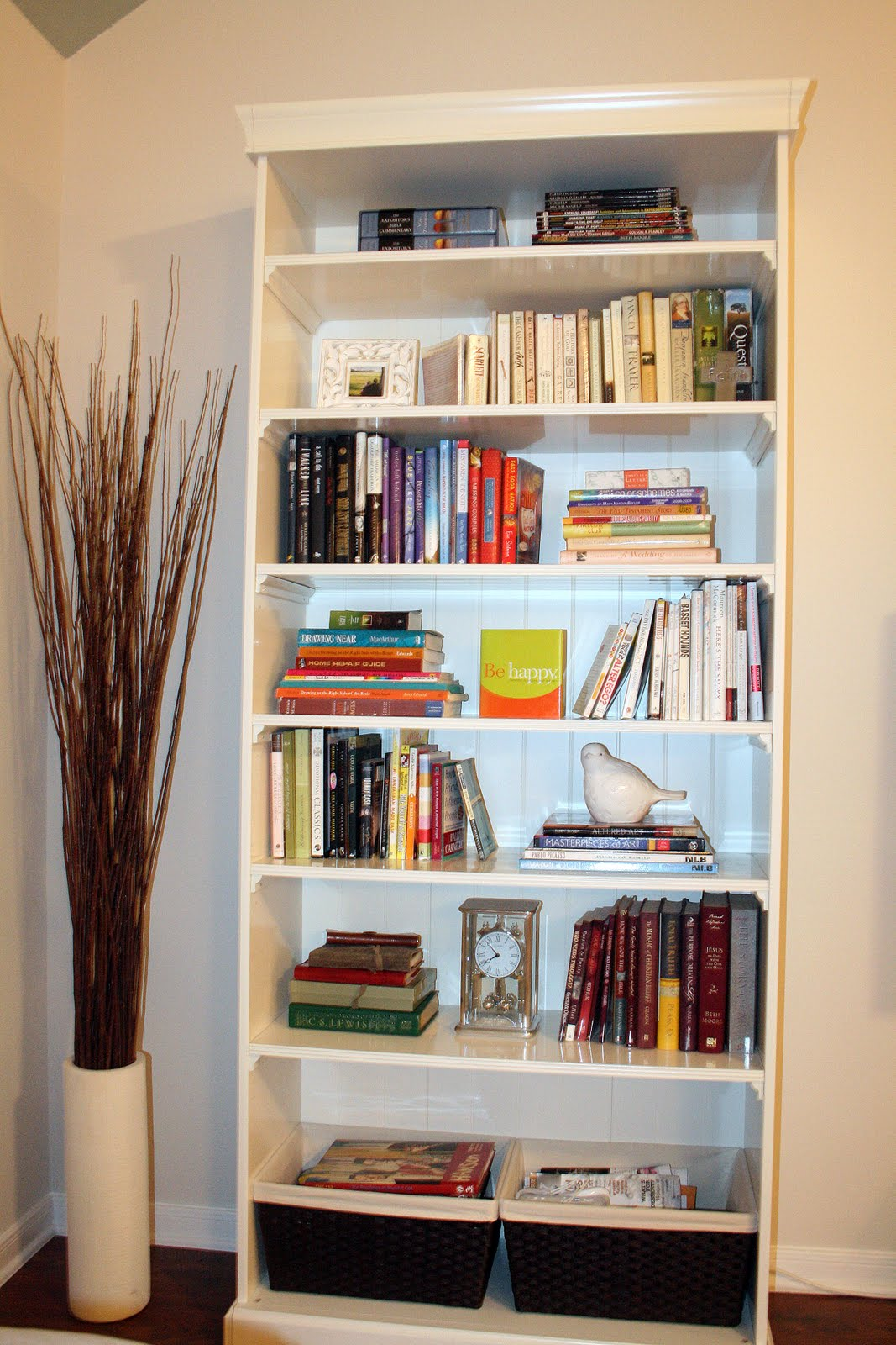 Keeping Up With The Joneses: On bookshelf accessorizing: