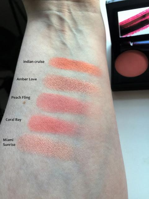 infallible blush paint ambers swatch kokemuksia